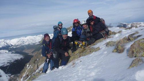 Alpinismo Bony Envalira cima