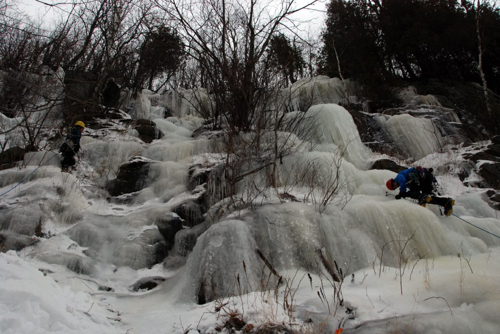 Escalada hielo Adirondacks