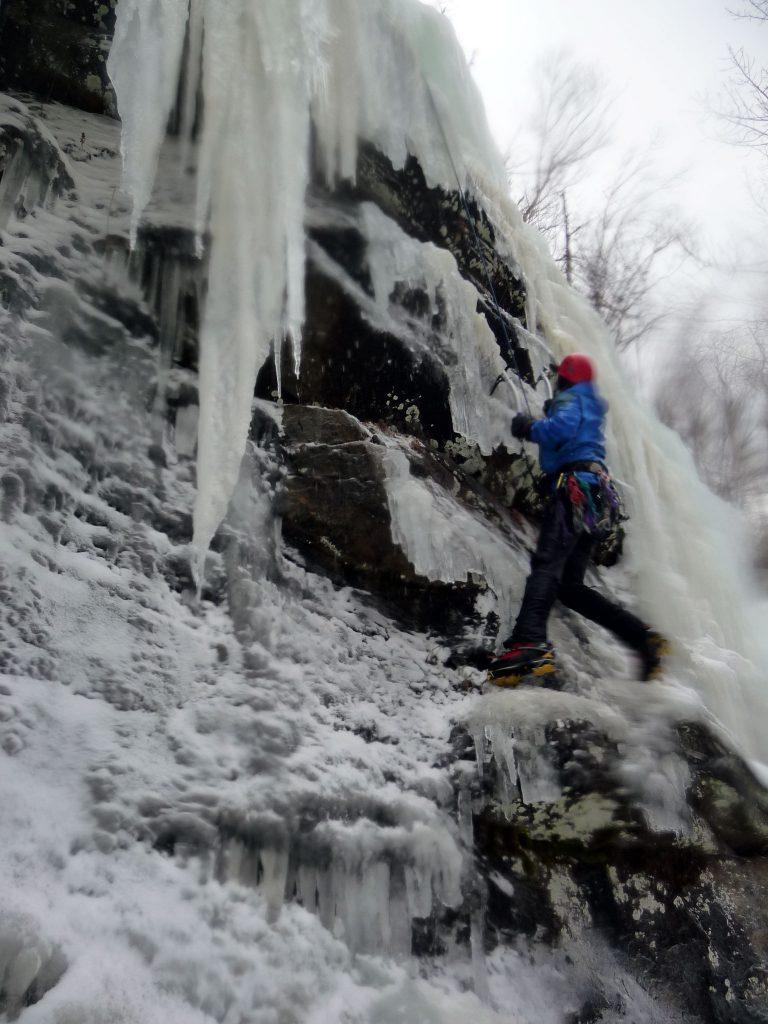Escalda hielo Adirondacks