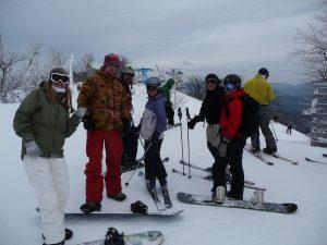 Grupo en Hunter Mountain