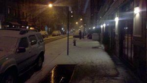 Snow blizzard NY