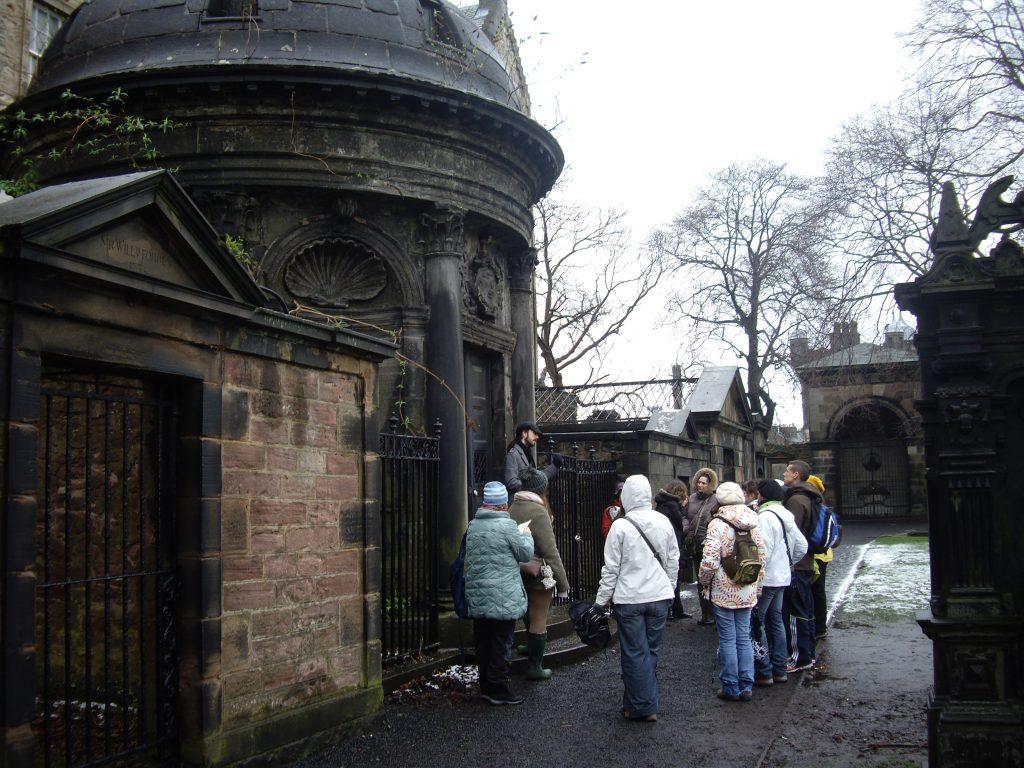 Cementerio Edimburgo...y cuentan algun fenómeno paranormal