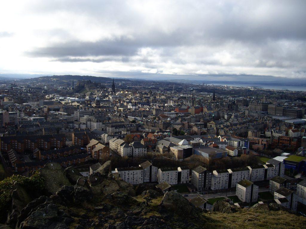 Edimburgo desde Arthur's Seat