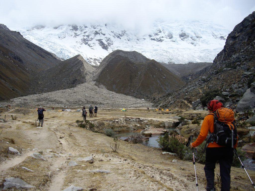 Campo Base Quebrada Ishinca