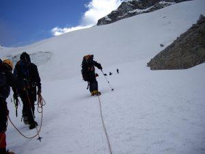 Ascensión a Ishinca (5.534m)