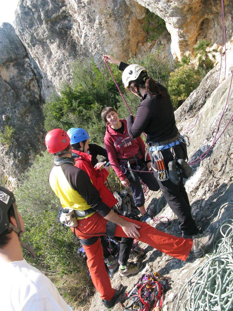 Escalada Roca Aguilera
