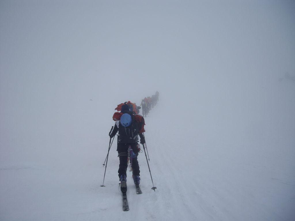 Vall de Valpelline, sense visibilitat