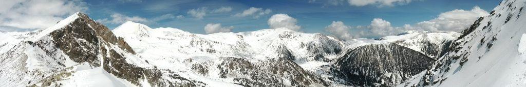 Vista des de sortida de la Estreta