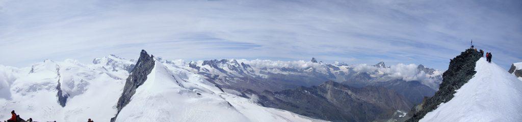 Panorama cima Allalinhorn