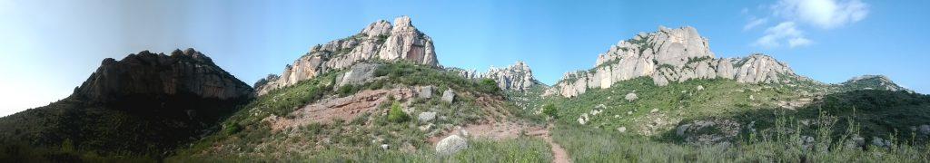 Montserrat, tornant de Desdentegada