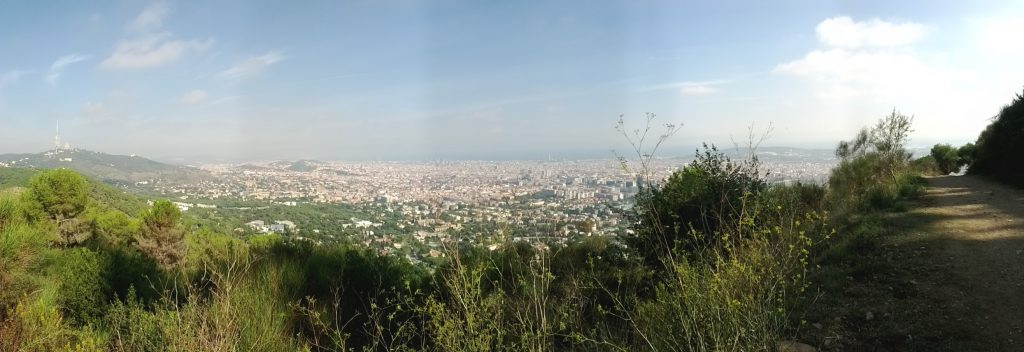 Barcelona desde Carretera Aigües
