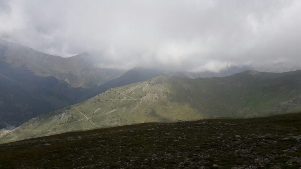 Albergue del Pic d'Aliga abajo