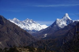 Everest Hotel view
