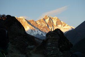 Atardecer en el Lhotse