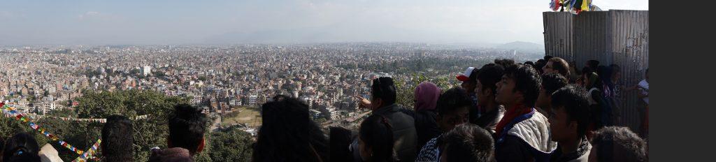 Katmandú desde arriba