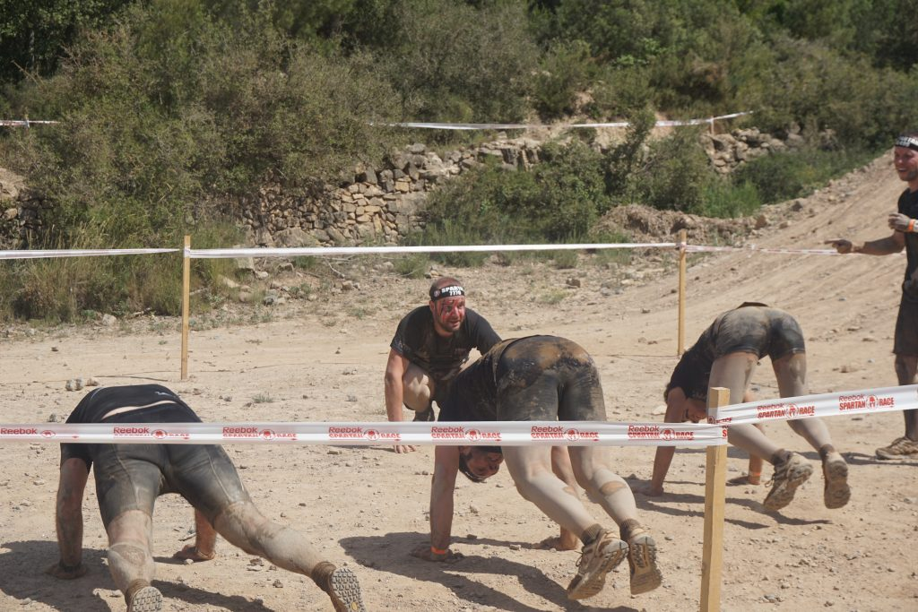 Spartan Race - Burpees