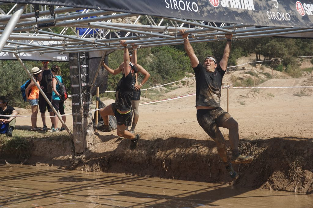 Spartan Race - Monkey Bars