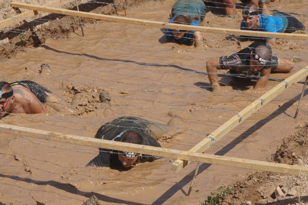 Spartan Race - barro