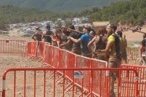 Spartan Race - jabalina