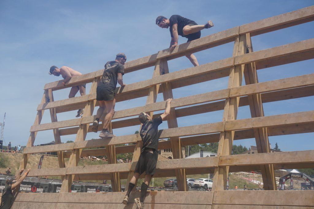 Spartan Race - muro