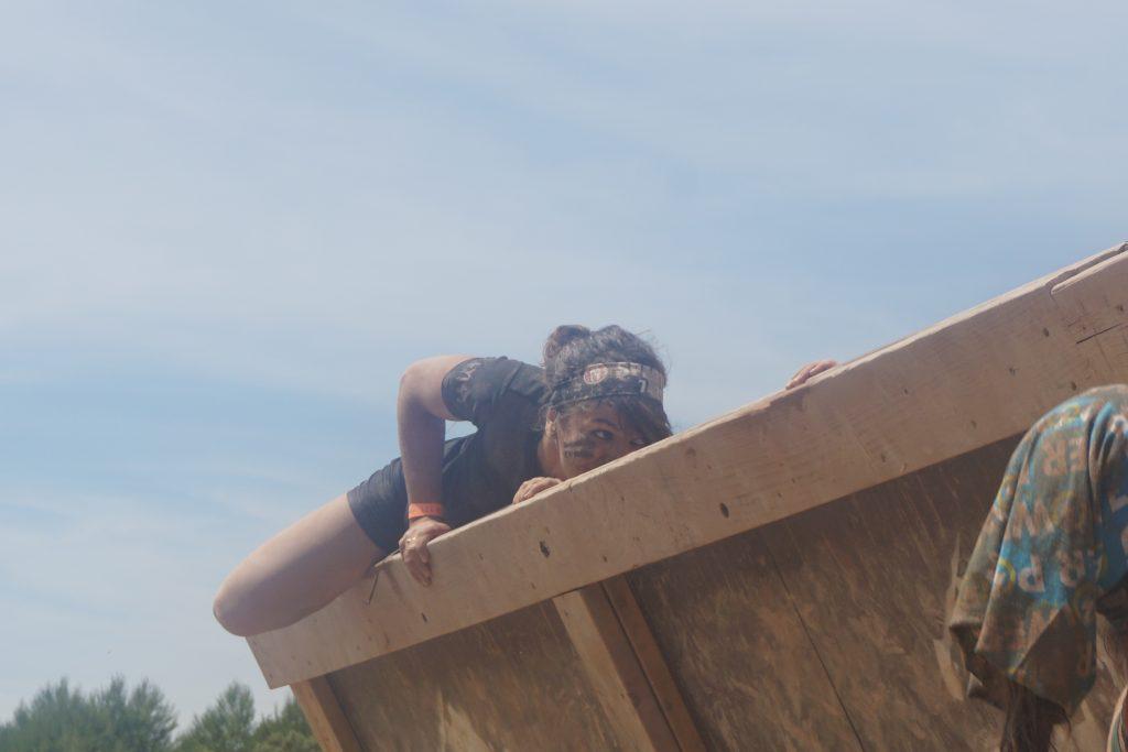 Spartan Race - muro desplomado Mery