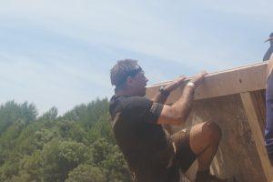 Spartan Race - muro desplomado Norbert