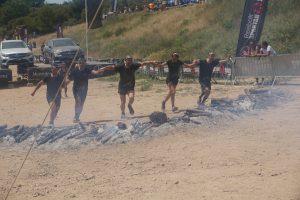 Spartan Race - salto del fuego