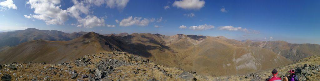 Panorámica cima Torreneules