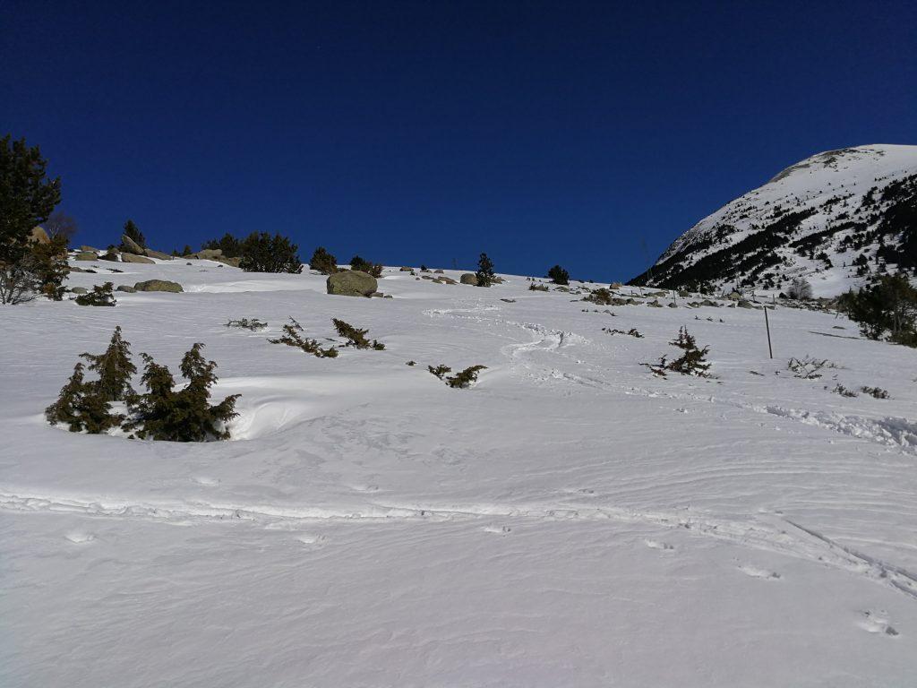 Norbert bajada esquí