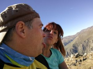 Selfie en la cima del Balandrau